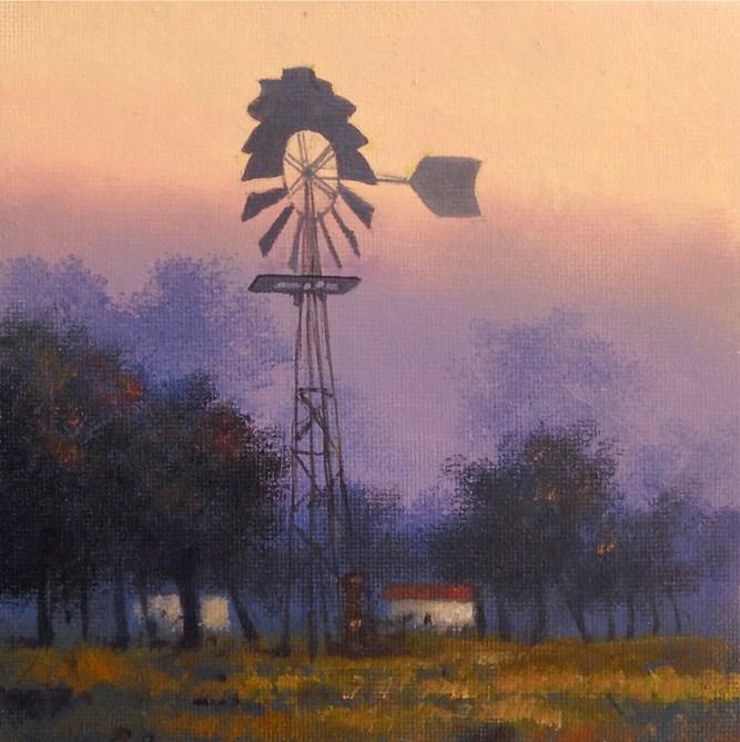 """SIMPLICITY"" original fine art by Gerald Schwartz"