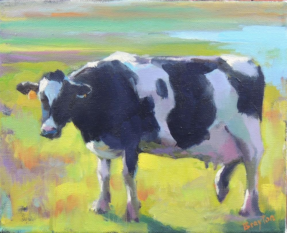 """On the Moove"" original fine art by Wendy Brayton"