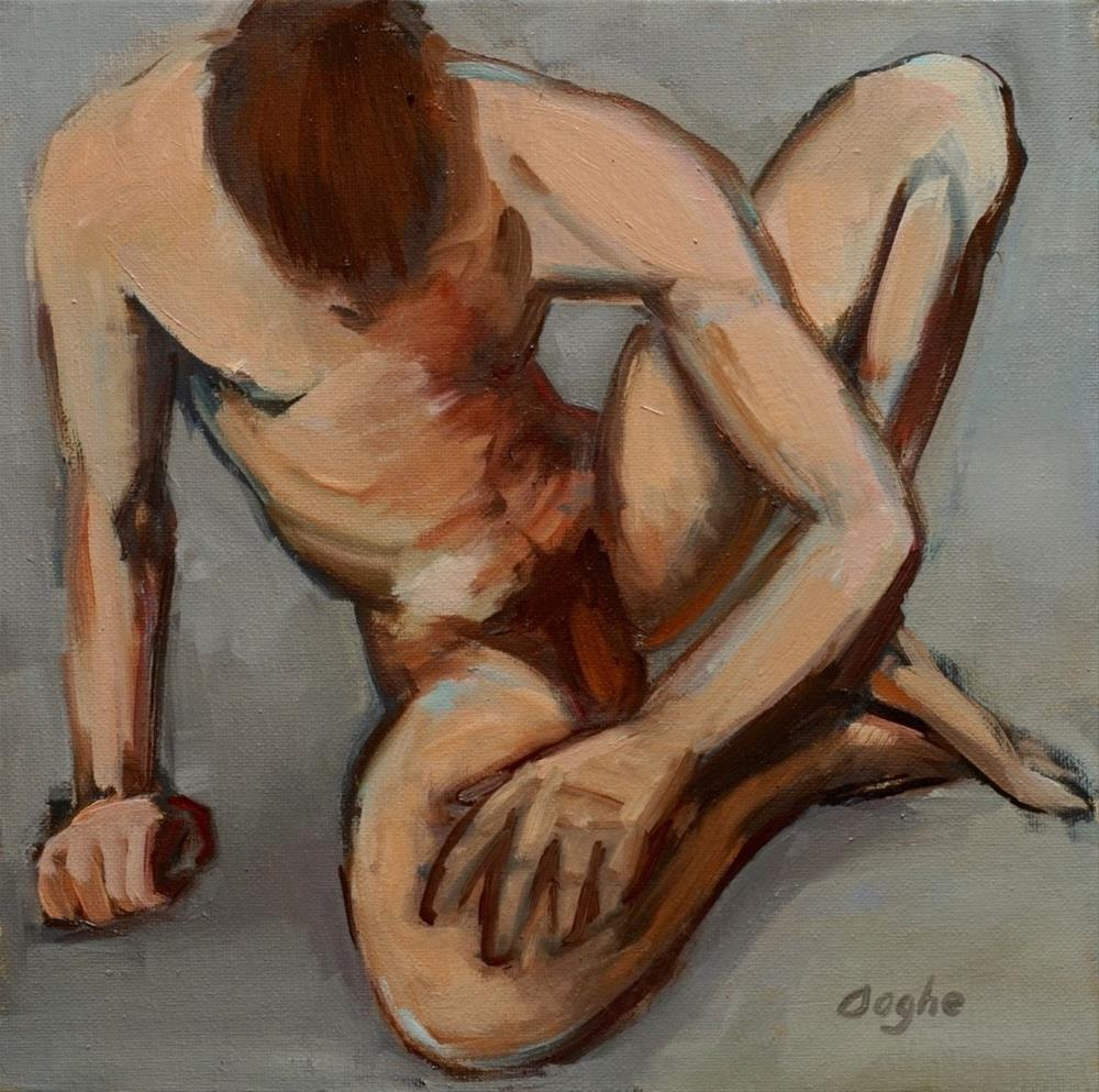 """Nude"" original fine art by Angela Ooghe"