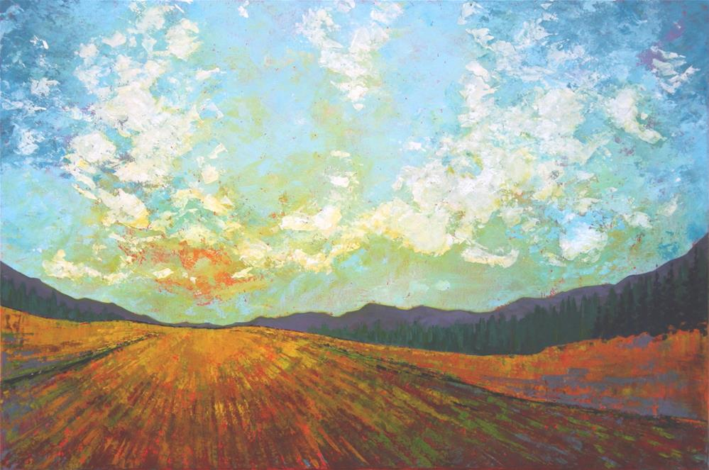 """In the Afternoon"" original fine art by Sage Mountain"