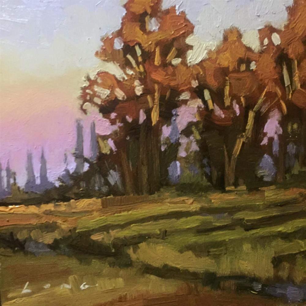 """Napa Valley III"" original fine art by Chris Long"