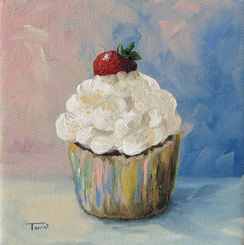 """Cupcake 005"" original fine art by Torrie Smiley"