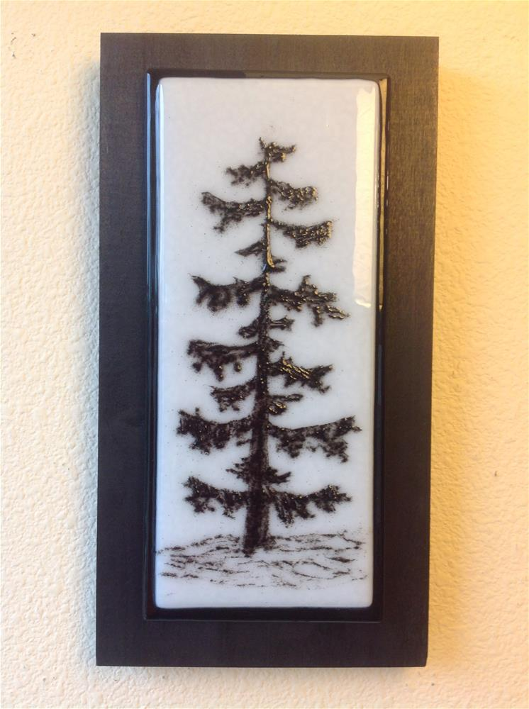 """NW Tree #4"" original fine art by Calloway Meiners"