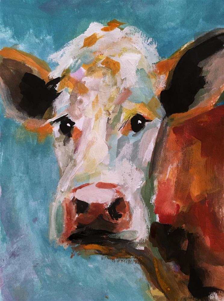 """Imogene"" original fine art by Susan Elizabeth Jones"