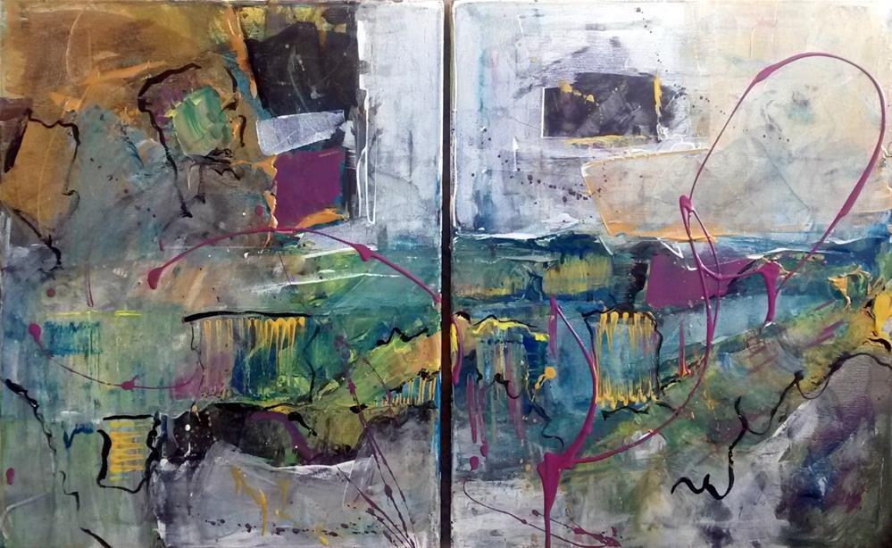 """""""Diversion"""" original fine art by Terri Einer"""