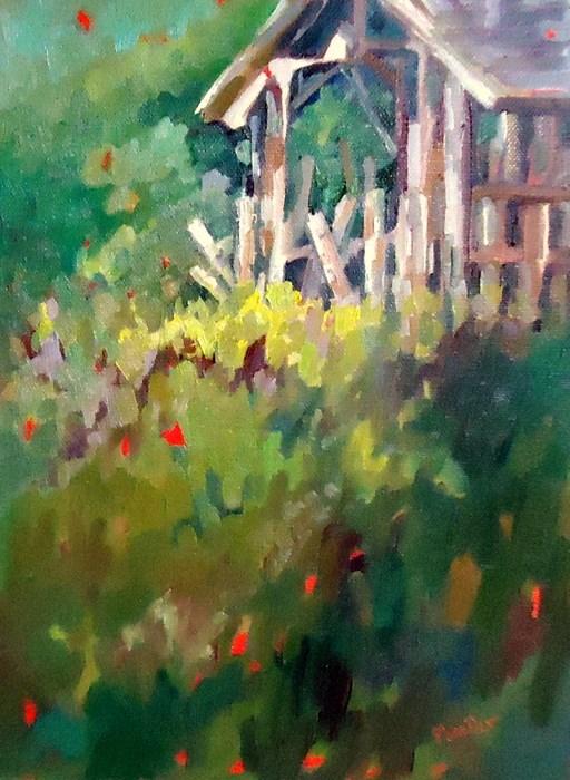 """Forlorn"" original fine art by Laurie Mueller"