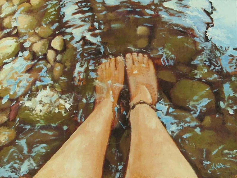 """Refreshing Perspective"" original fine art by Kaia Thomas"