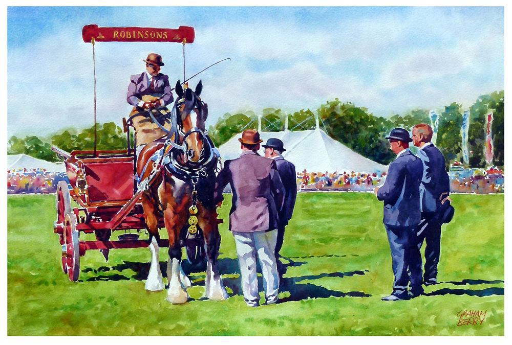"""Best in show"" original fine art by Graham Berry"