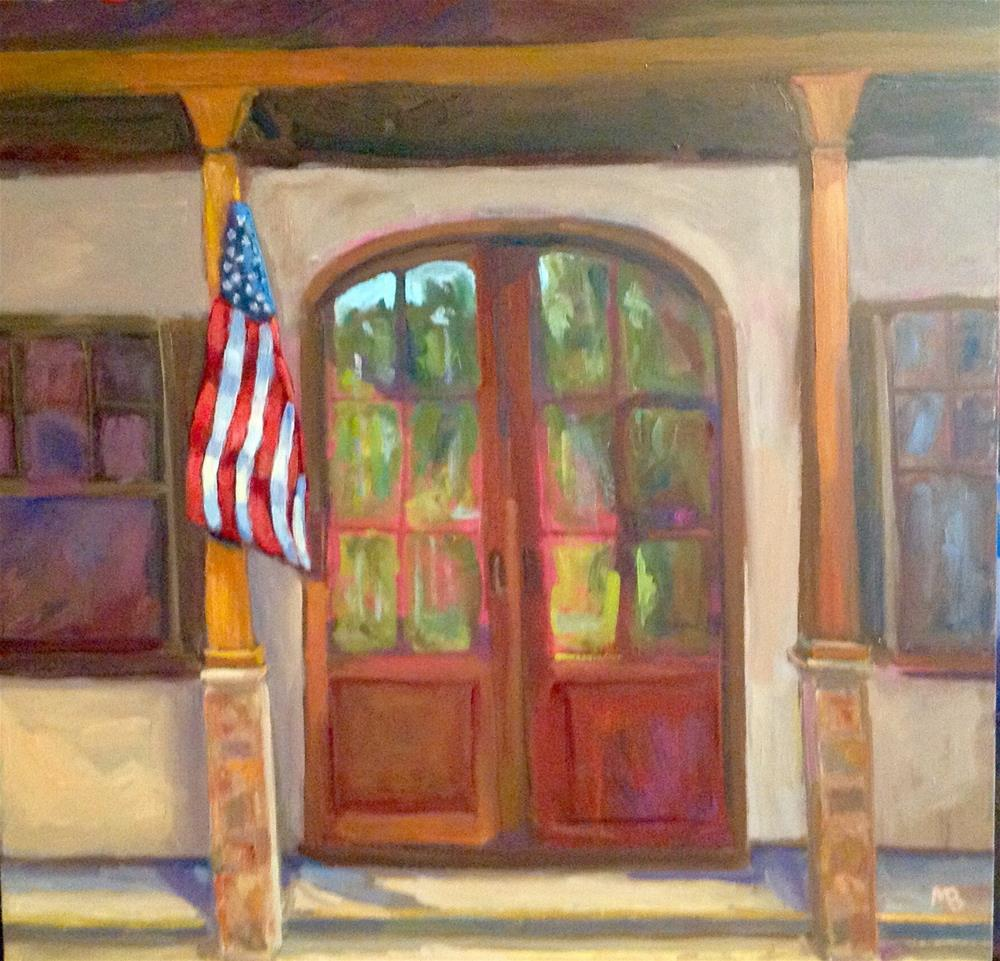"""Every Day is 4th of July"" original fine art by Marcia Bergtholdt"