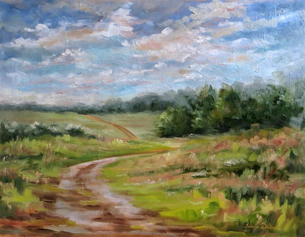 """Prairie Path"" original fine art by Tammie Dickerson"