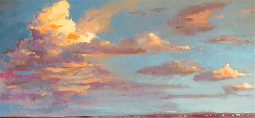 """Ponchartrain After Storm"" original fine art by Chris Long"