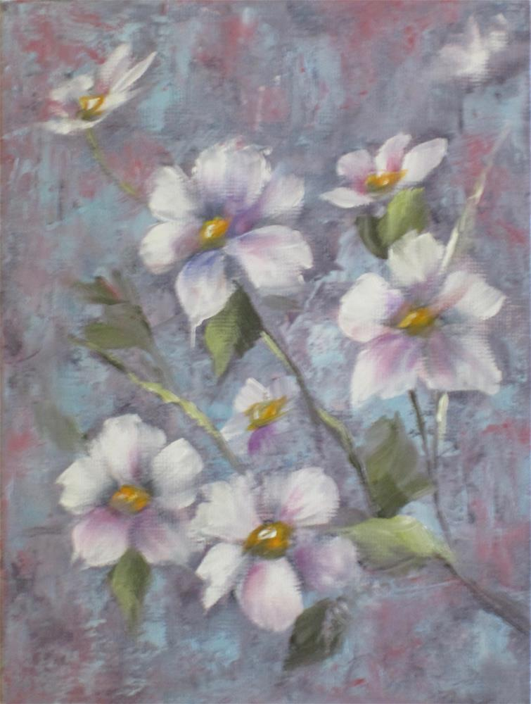 """Dogwood 1"" original fine art by Barbara Wagner"