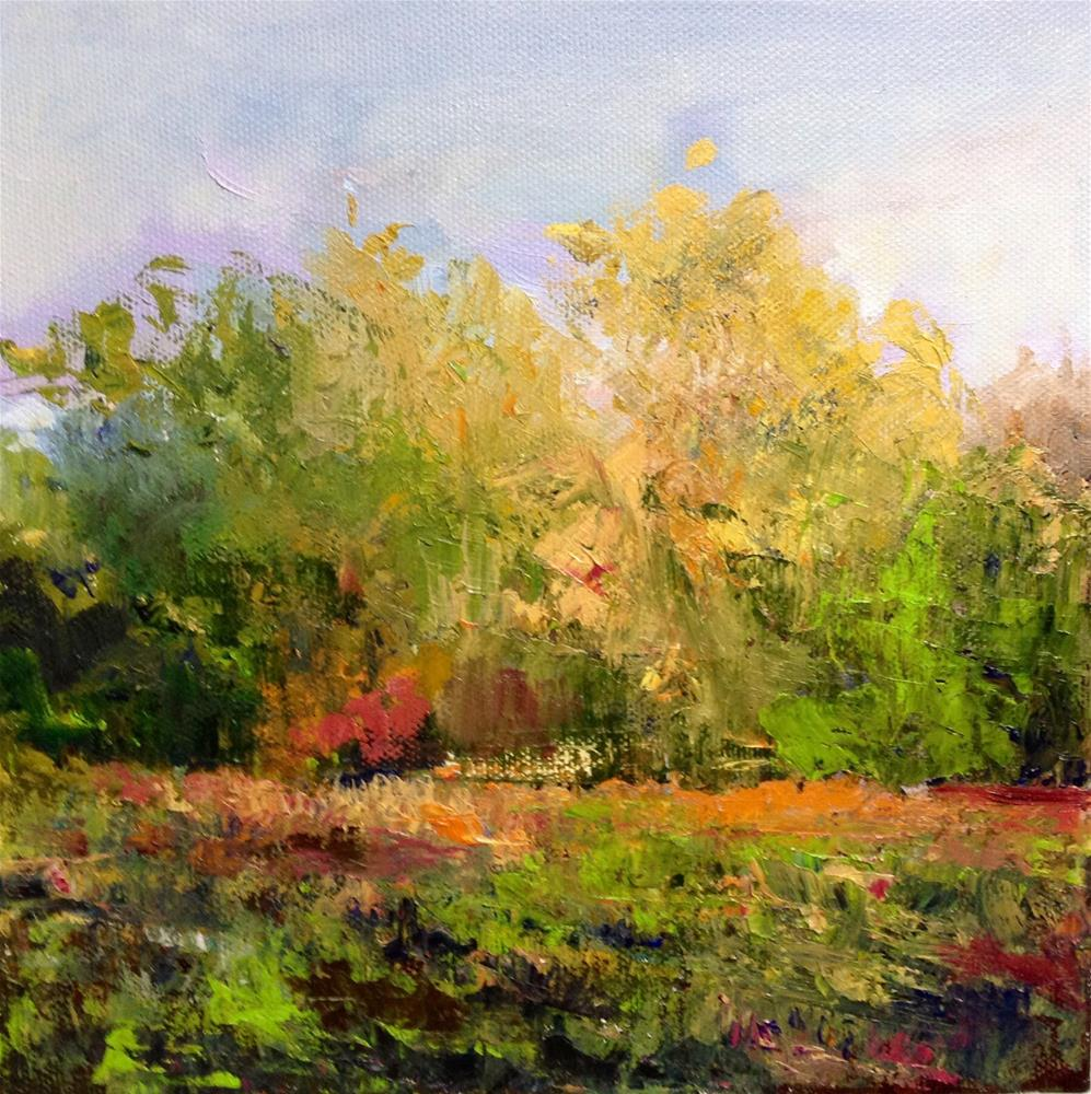 """Last Light Revisited"" original fine art by Cathy Boyd"