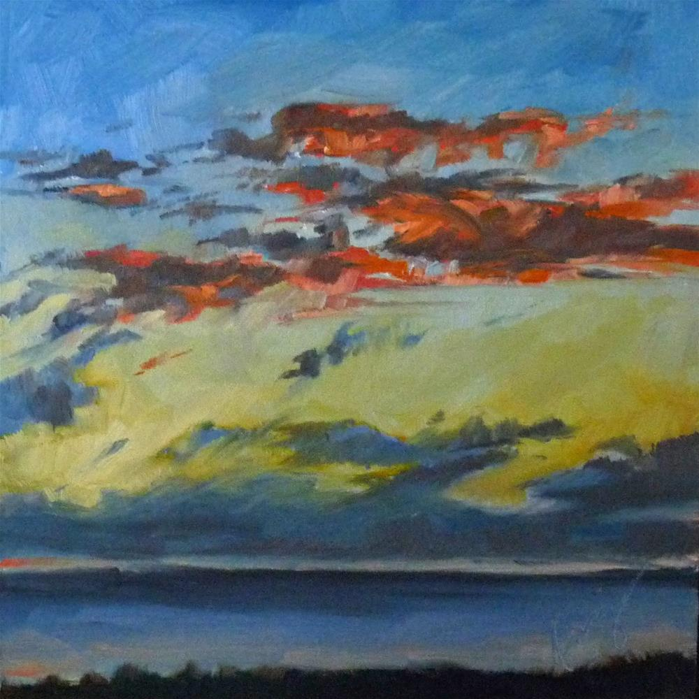 """Sky6"" original fine art by Sharman Owings"