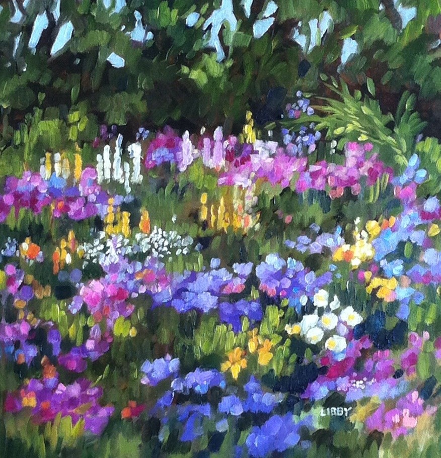 """Mary, Mary"" original fine art by Libby Anderson"