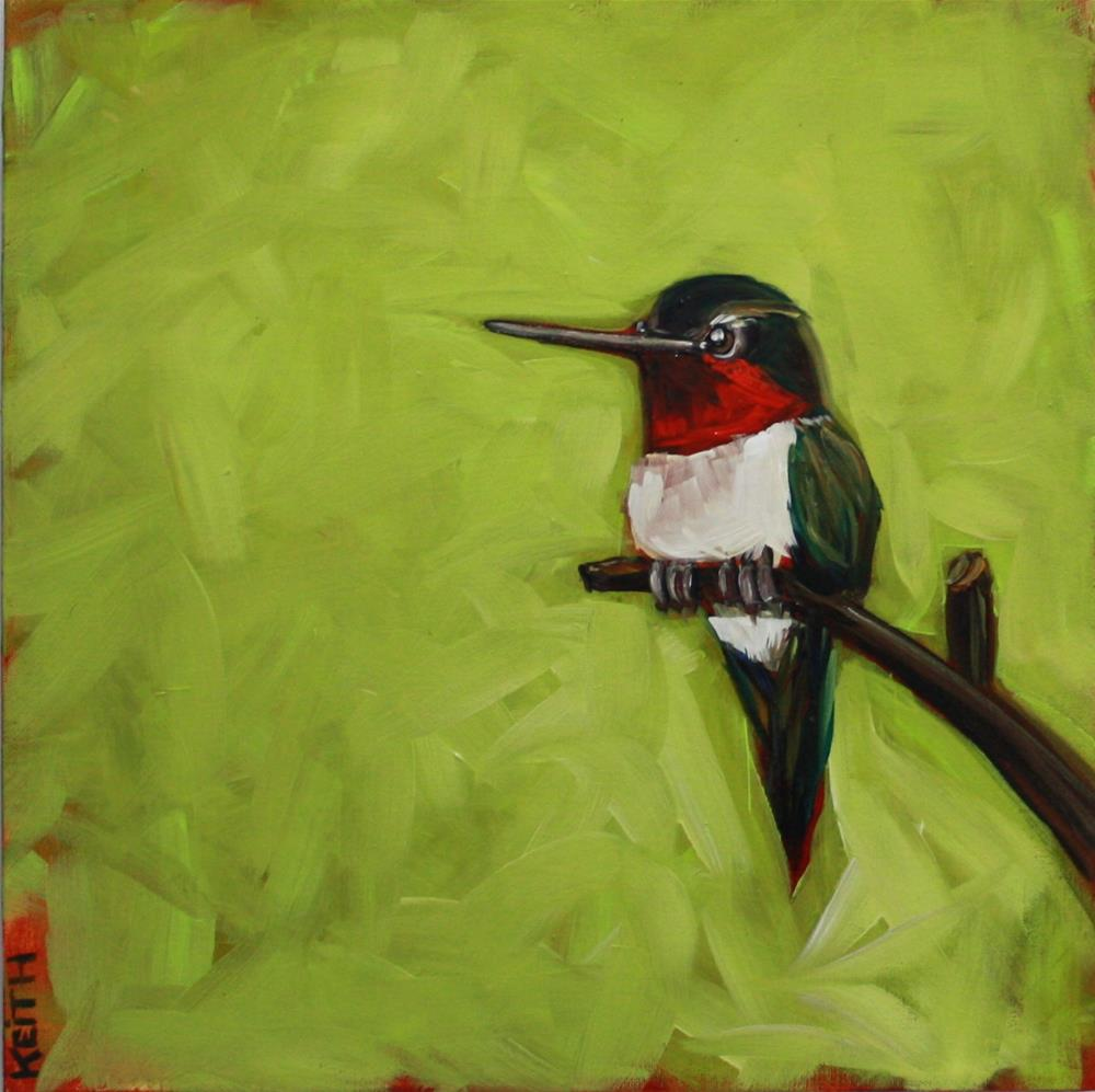 """""""Patrick"""" original fine art by Kandice Keith"""