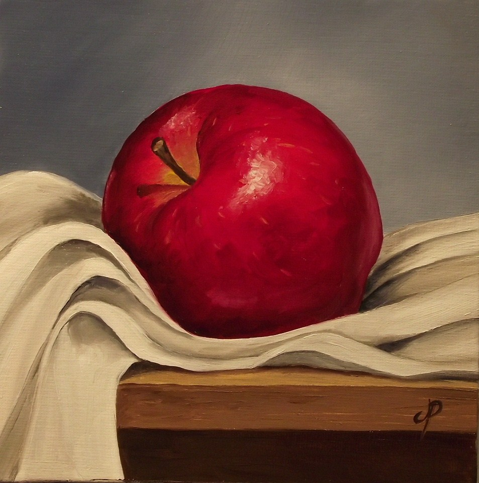"""Red Delicious"" original fine art by Jane Palmer"