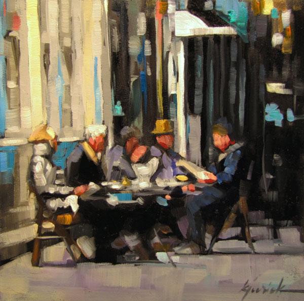 """Under The Influence"" original fine art by Karin Jurick"