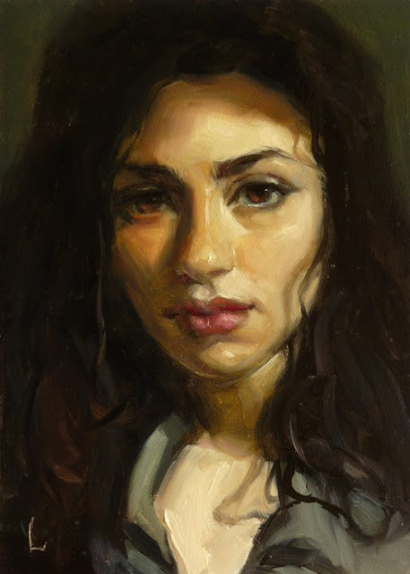 """Shadow Veil 2"" original fine art by John Larriva"