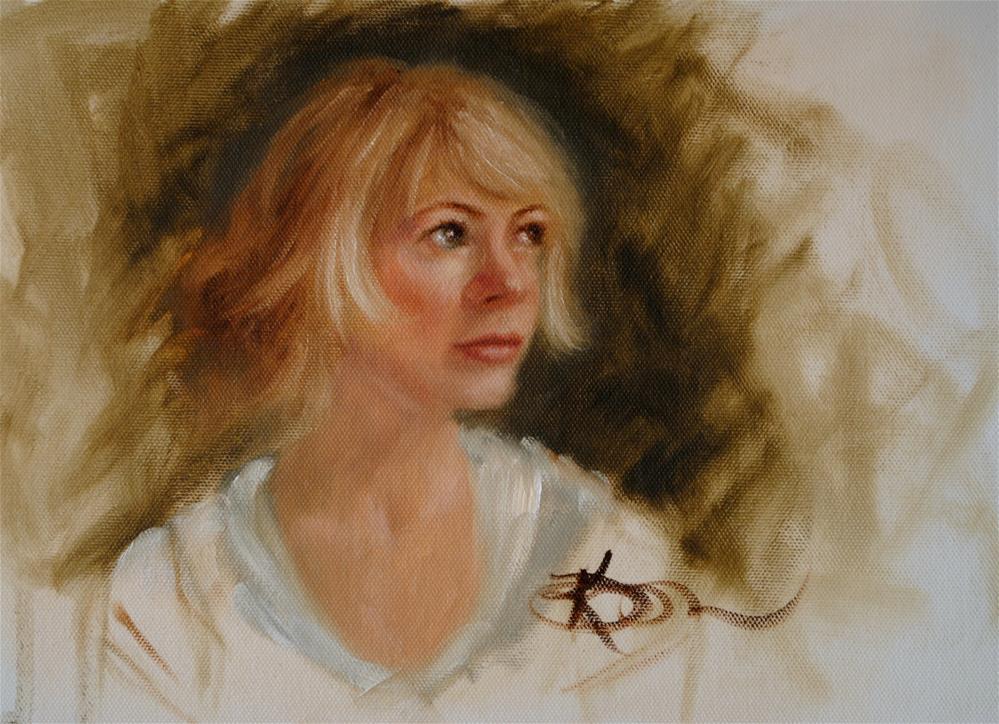 """Hope"" original fine art by Kelly Berkey"