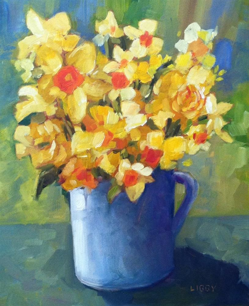 """Yellow Variety"" original fine art by Libby Anderson"
