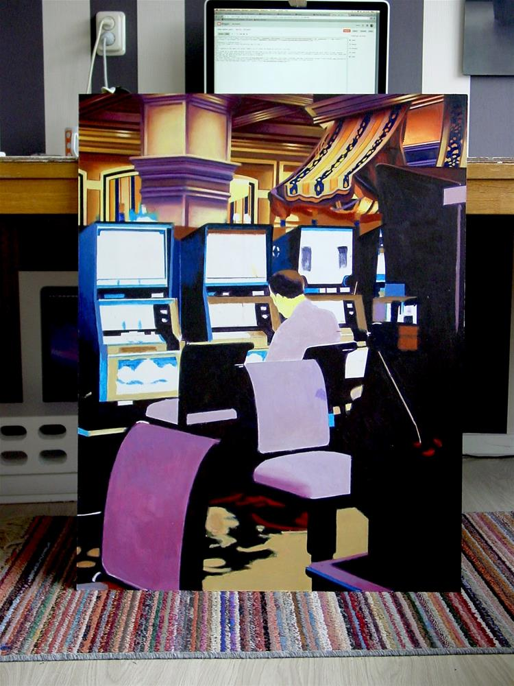 """Painting in Progress- Day 6"" original fine art by Gerard Boersma"