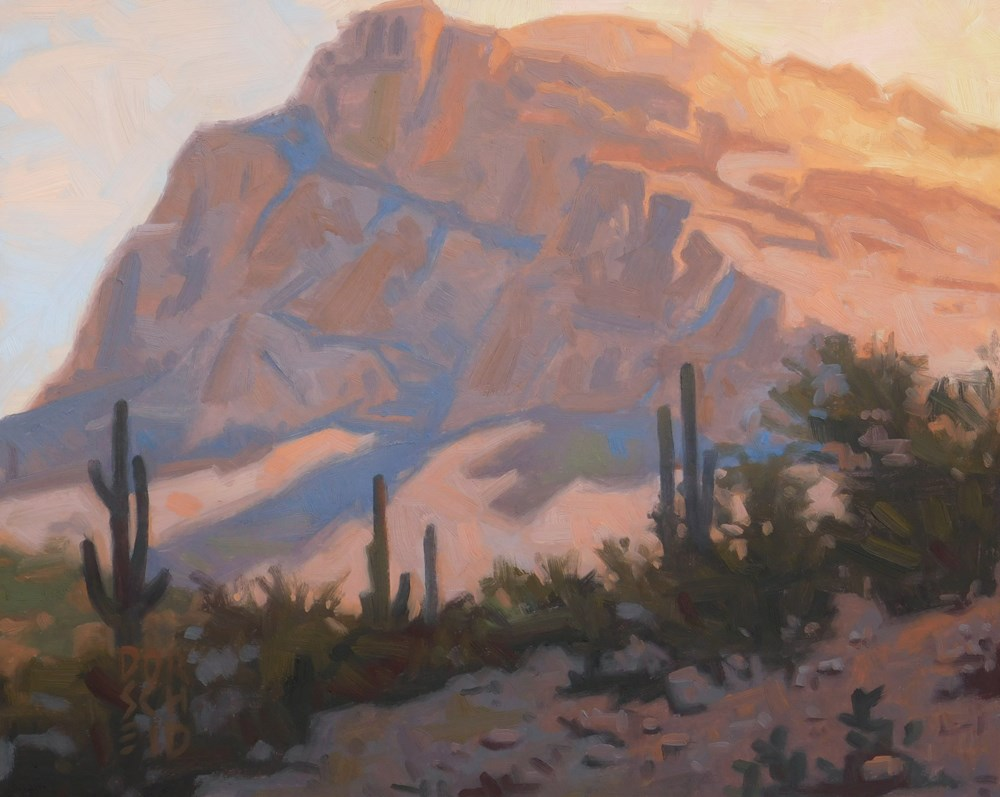 """Arizona View"" original fine art by Les Dorscheid"