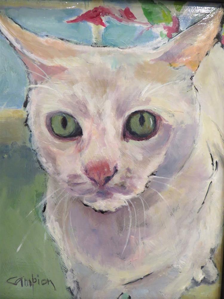 """""""751 Joon"""" original fine art by Diane Campion"""