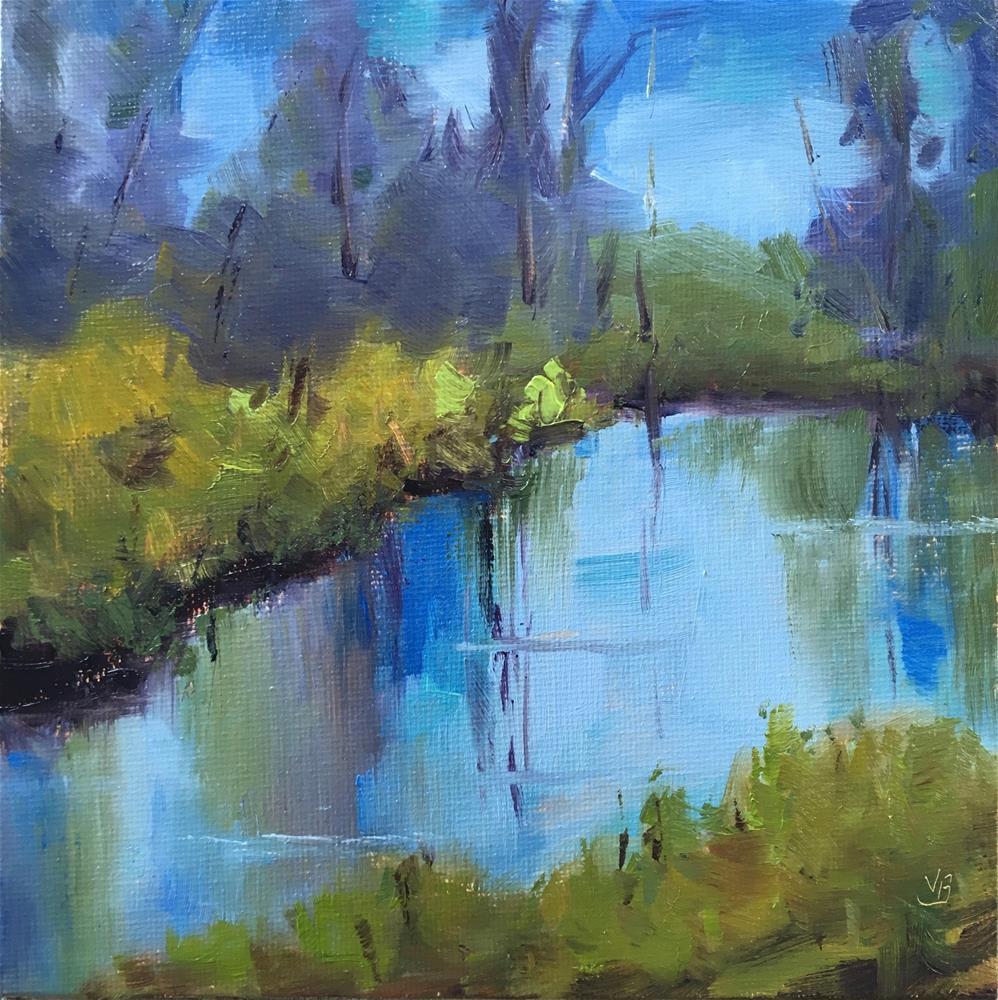 """Untitled"" original fine art by Victoria  Biedron"