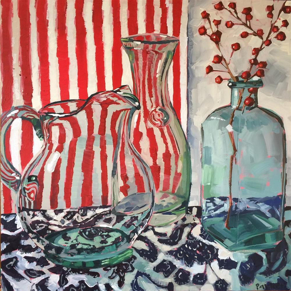 """All That Glass"" original fine art by Teddi Parker"