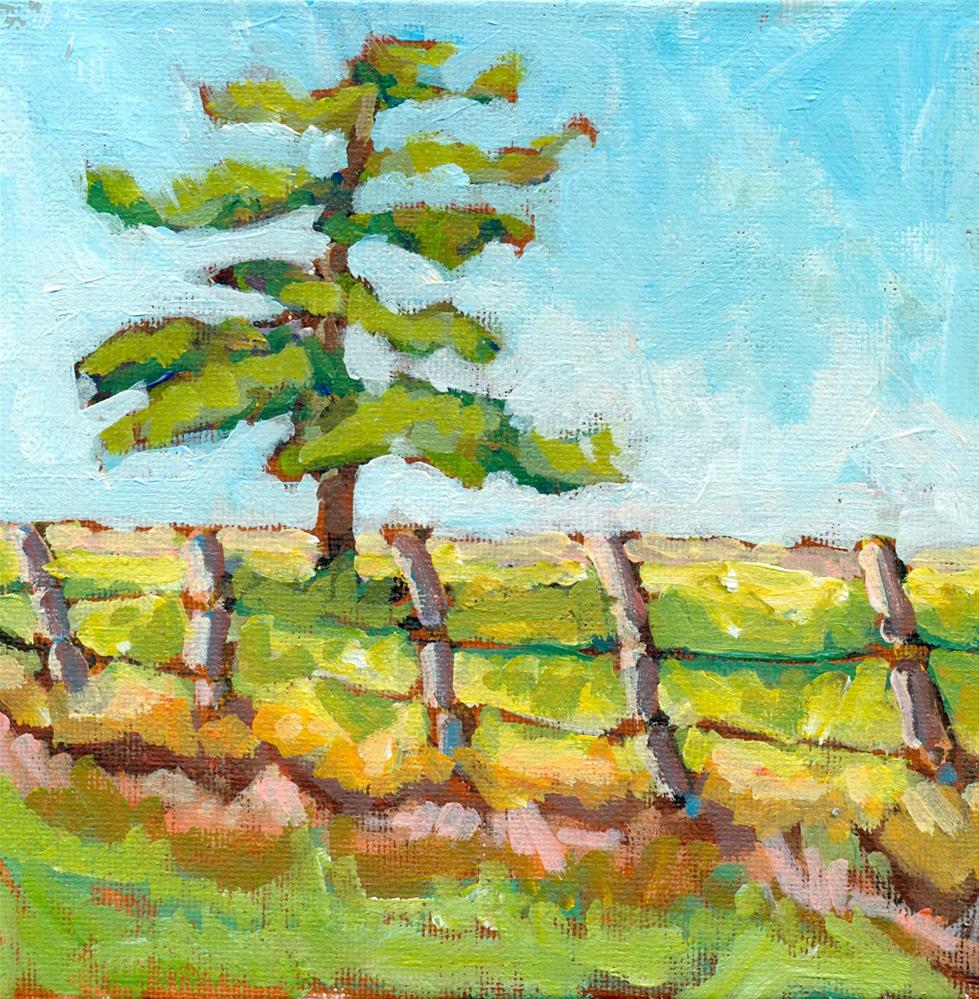 """Tree gesture challenge"" original fine art by Shelley Garries"