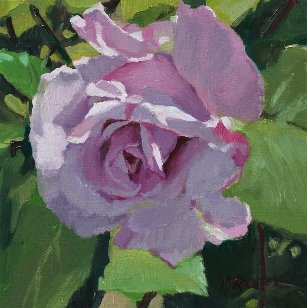 """Berkeley Rose"" original fine art by Kaethe Bealer"