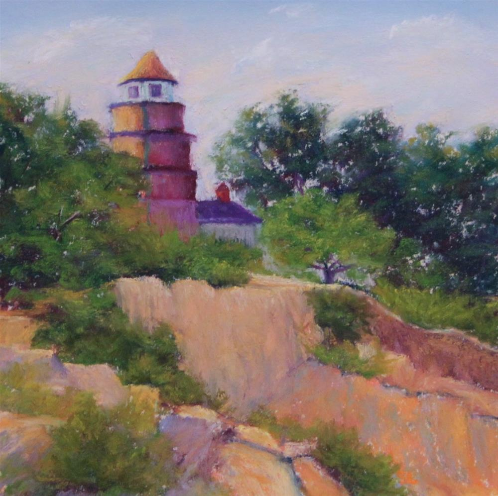 """Near Halibut Point"" original fine art by Sharon Lewis"