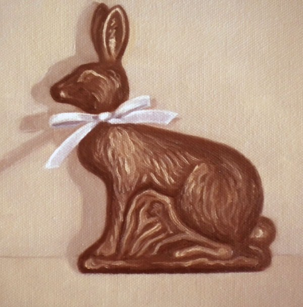 """Hop Chocolate"" original fine art by Darla McDowell"