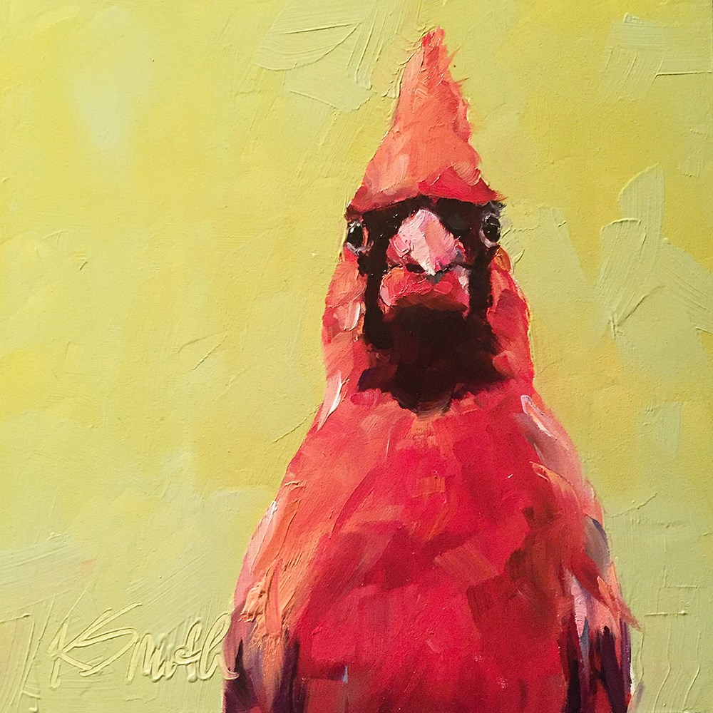 """wait, what?"" original fine art by Kim Smith"