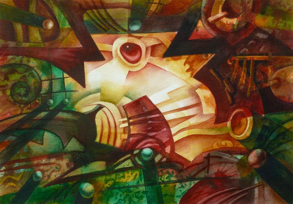 """Signs & Wonders"" original fine art by Mark Allison"