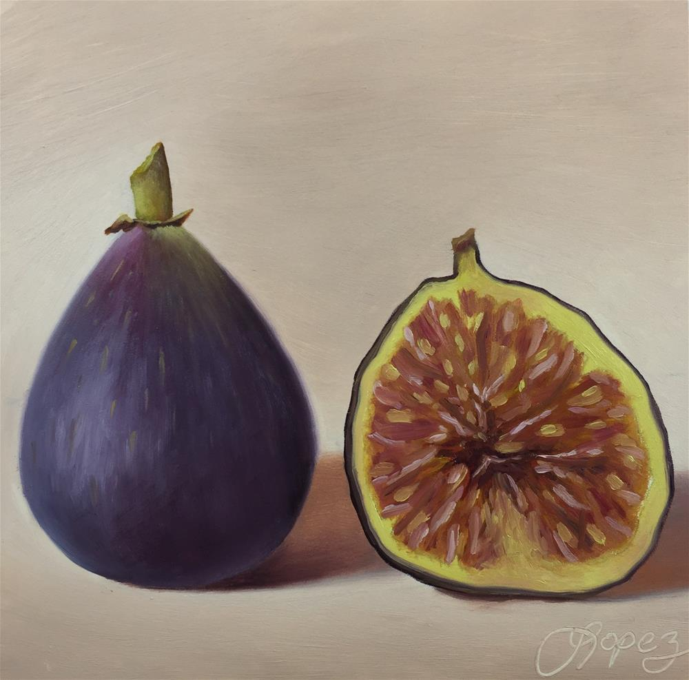 """27. Inside Out, Walter's Figs"" original fine art by Gema Lopez"