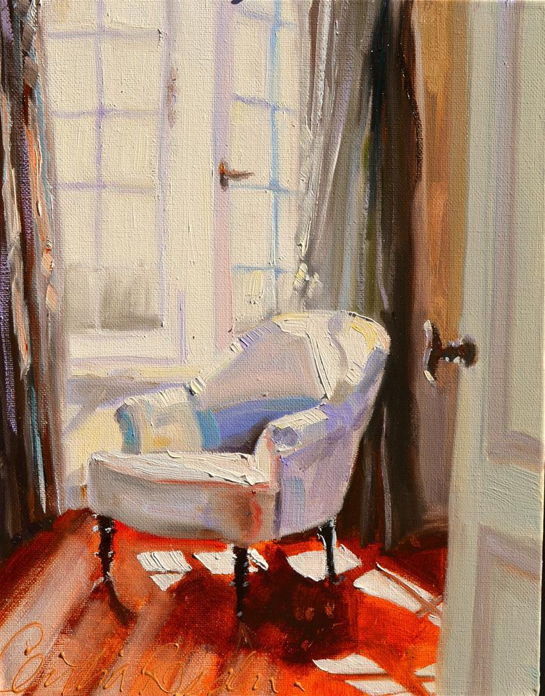 """RUSTIGHEID"" original fine art by Cecilia Rosslee"