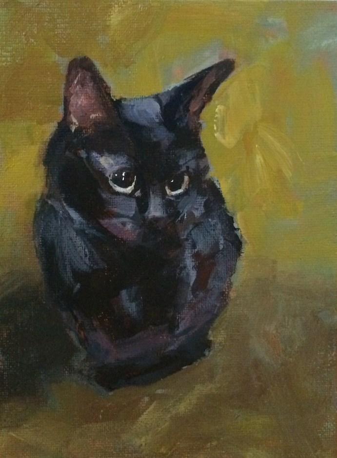 """Olive No. 6"" original fine art by Shannon Bauer"