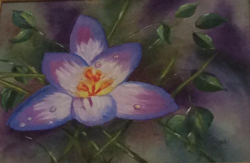 """Spring has Sprung"" original fine art by Charlotte Lough"
