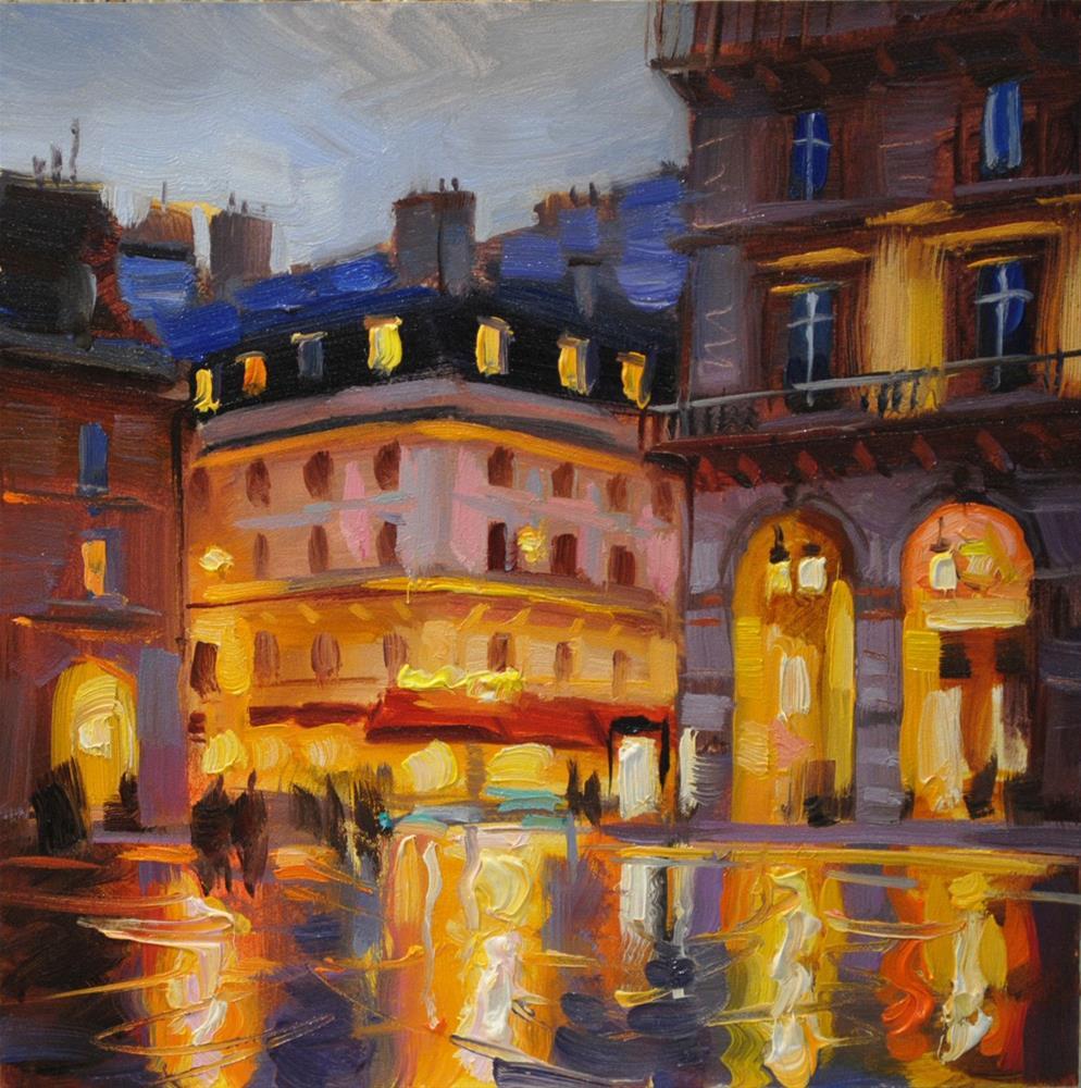 """City Colors"" original fine art by Elena Katsyura"