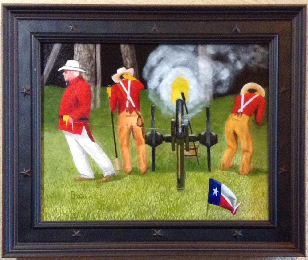 """Spirit of Texas"" original fine art by Beau Crump"