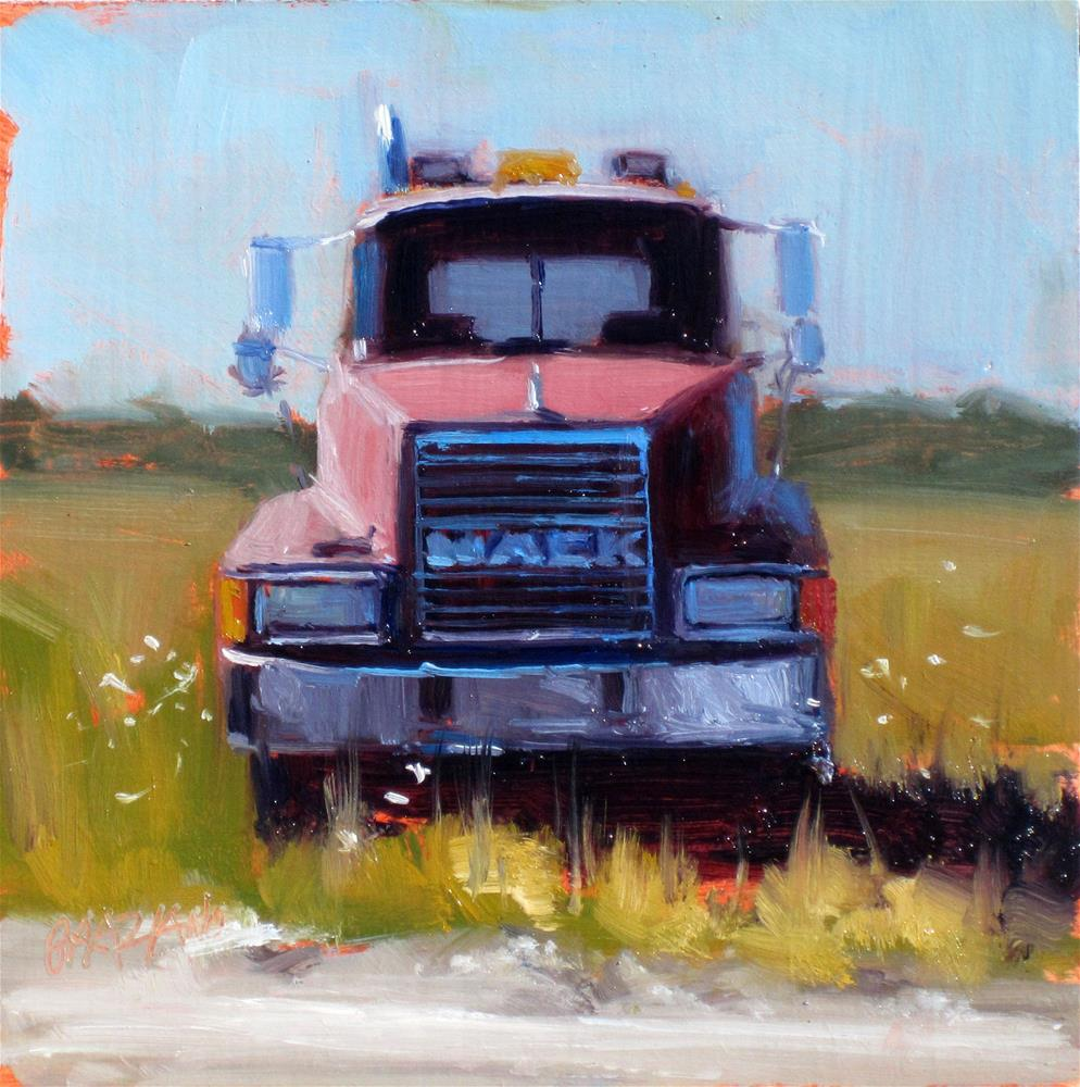 """Mack"" original fine art by Dan Graziano"