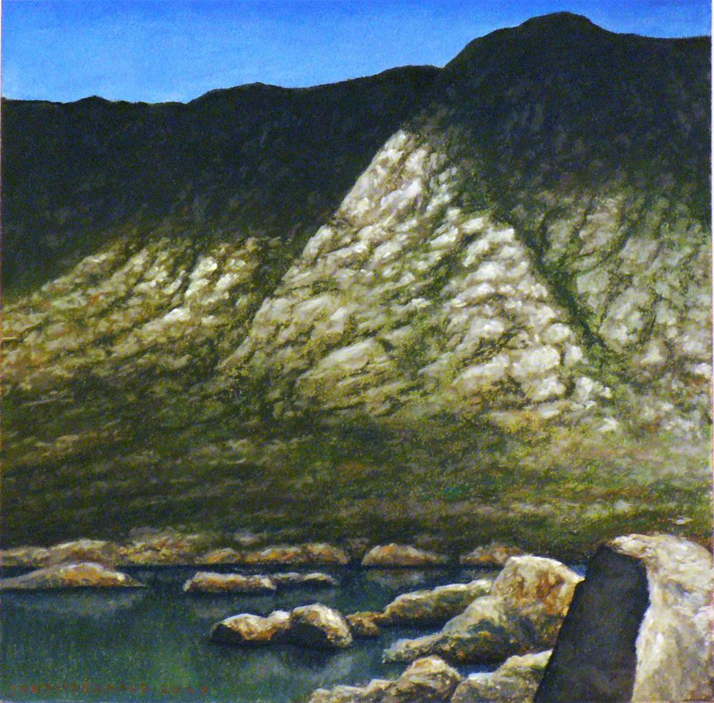 """Connemara Shadows"" original fine art by Joe Fitzgerald"