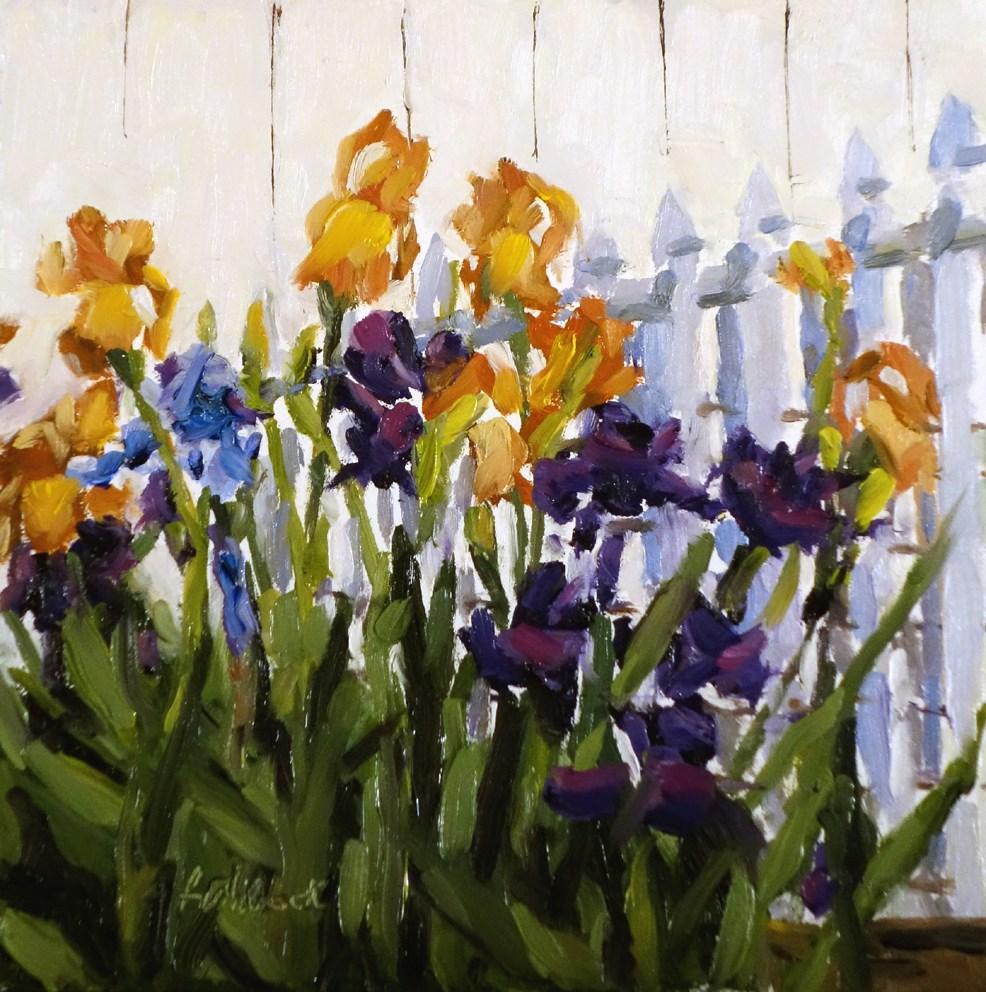 """Irises"" original fine art by Daniel Fishback"