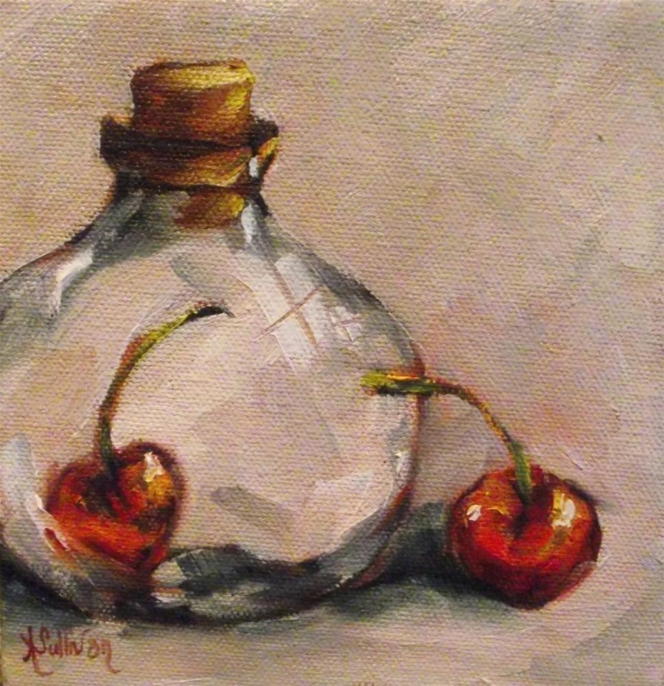 """Stuck Inside"" original fine art by Angela Sullivan"