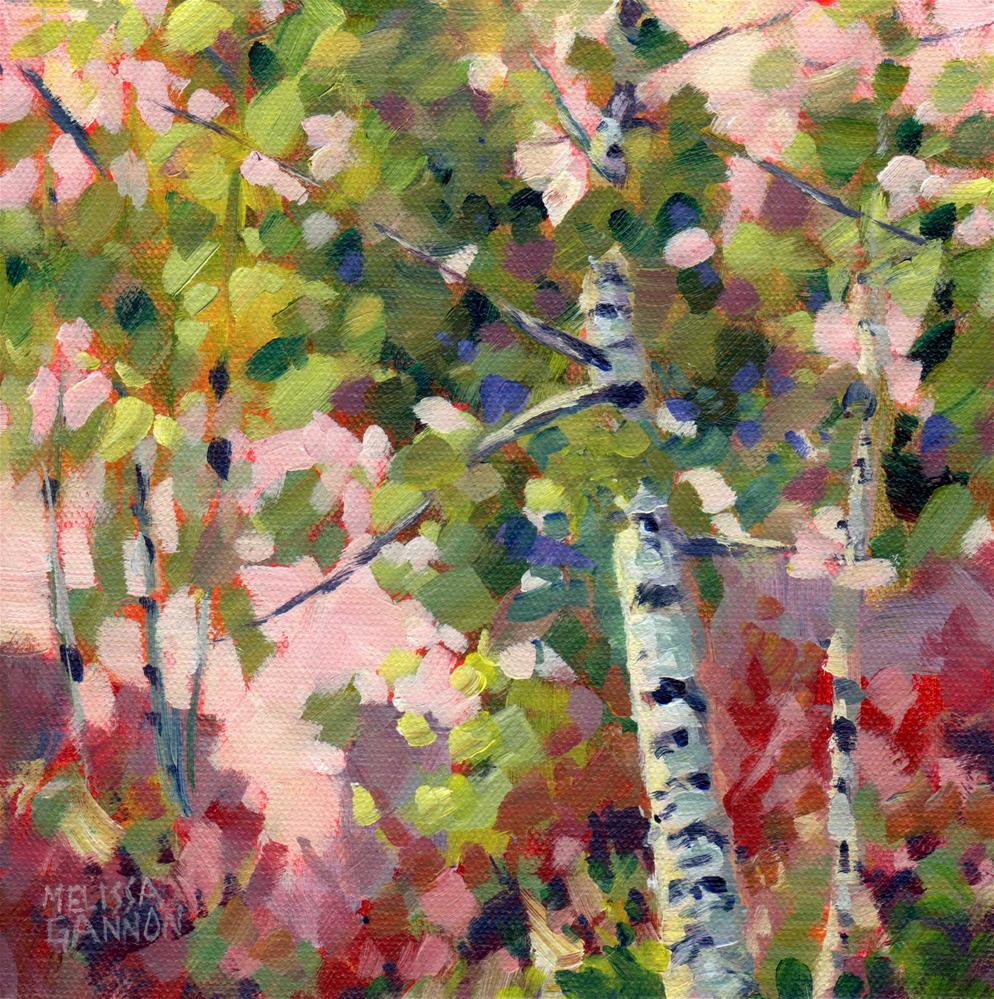 """Natural Vitality"" original fine art by Melissa Gannon"