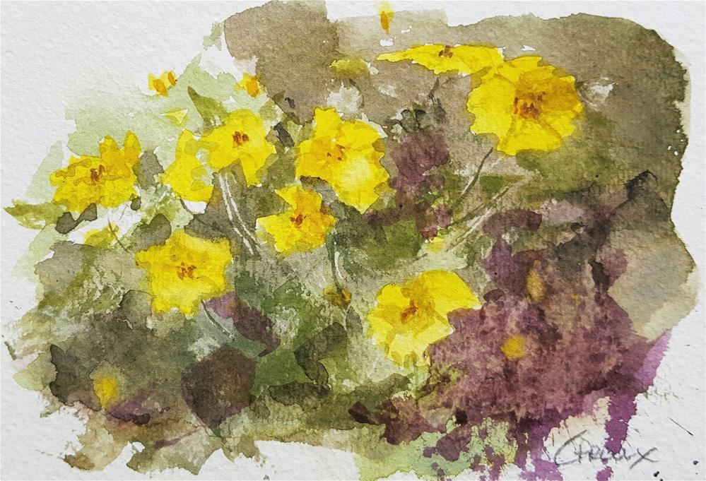 """""""Yellow Sunshine"""" original fine art by Cory Proulx"""