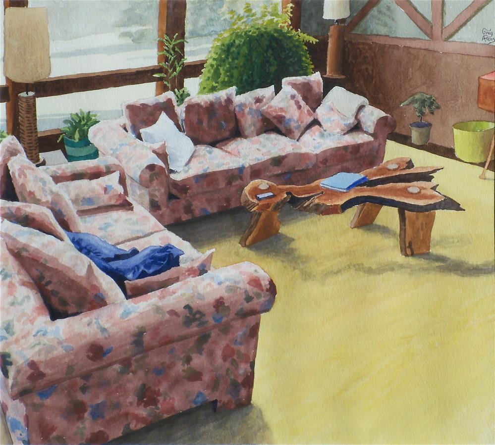 """Contemporary Setting"" original fine art by Greg Arens"