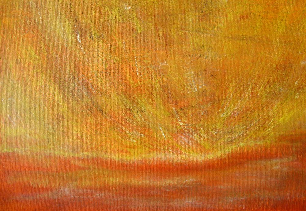 """Sparkles In The Sky"" original fine art by Alina Frent"